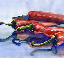 Peppers by Tania Richard