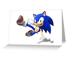 Sonic The Hedgehog - Lost World Greeting Card