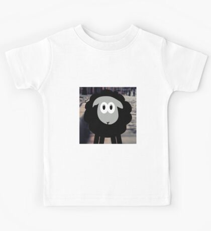 Sheep in The City Kids Tee