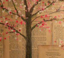 Alice under the tree Sticker