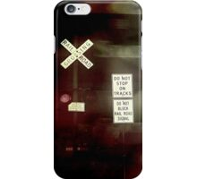 Crossing the End iPhone Case/Skin