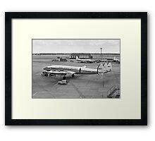 L-1049G Super Constellation CF-TEV Framed Print
