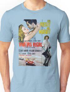 Elvis in Viva Las Vegas(Italian promo) Unisex T-Shirt
