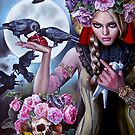 Madonna of the Crows by Italia Ruotolo