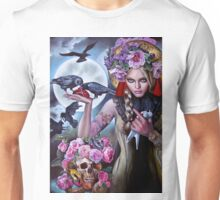 Madonna of the Crows Unisex T-Shirt