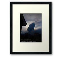Waldo Canyon Wildfire,Colorado Springs  Framed Print