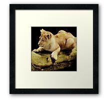 Log on Framed Print