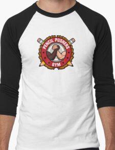 Pencil Pushers Gym Men's Baseball ¾ T-Shirt