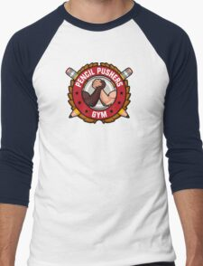 Pencil Pushers Gym Men's Baseball ¾ T-Shirt