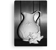 Still Life in White Canvas Print
