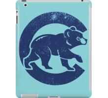 Chicago Cubs baseball Sport blue iPad Case/Skin