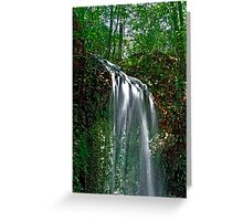 Falling Waters.  Greeting Card