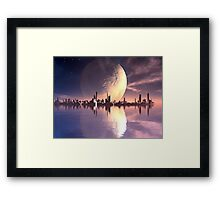 New Atlantis Framed Print