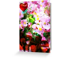 L O V E (greeting card) Greeting Card