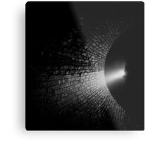 Walking into the Abyss Metal Print