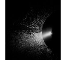 Walking into the Abyss Photographic Print