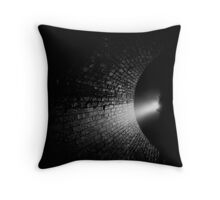 Walking into the Abyss Throw Pillow