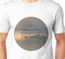 Genesis 1 6-8 Let there be a firmament in the midst of the waters Unisex T-Shirt