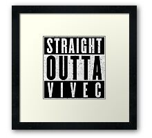 Adventurer with Attitude: Vivec Framed Print