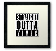 Adventurer with Attitude: Vivec Framed Print