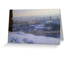 Wintery Magic Greeting Card