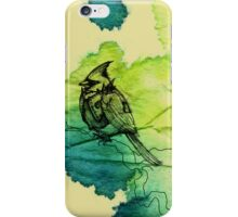 Punk bird iPhone Case/Skin