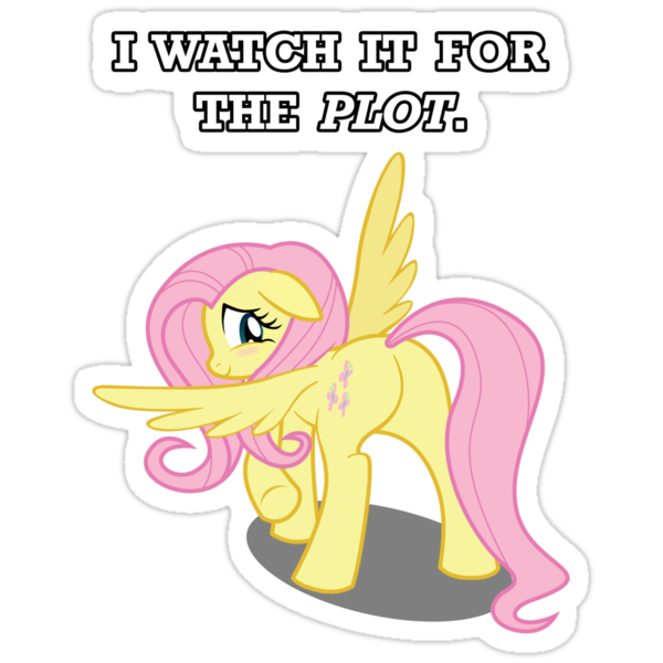 For the Plot (Fluttershy) by vigorousjammer