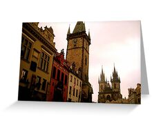 The beauty of Prague Greeting Card
