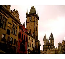The beauty of Prague Photographic Print
