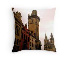 The beauty of Prague Throw Pillow