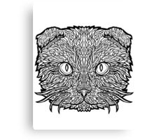 Scottish Fold - Complicated Cats Canvas Print