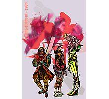 Samurai Spirit Past Present and Future Photographic Print