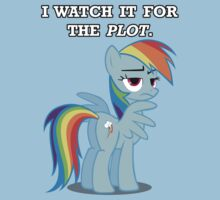 For the Plot (Rainbowdash) by vigorousjammer