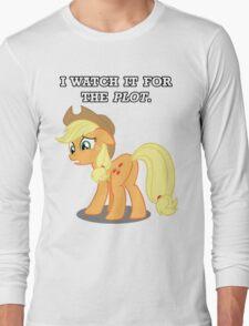 For the Plot (Applejack) Long Sleeve T-Shirt