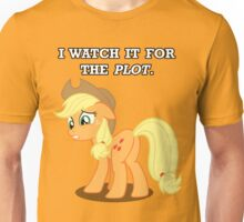 For the Plot (Applejack) Unisex T-Shirt
