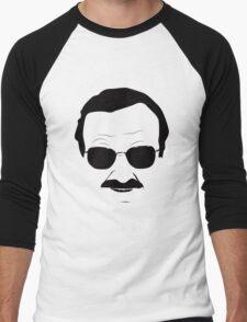 Stan Lee in Black Men's Baseball ¾ T-Shirt