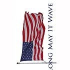 american flag long may it wave phone by dedmanshootn