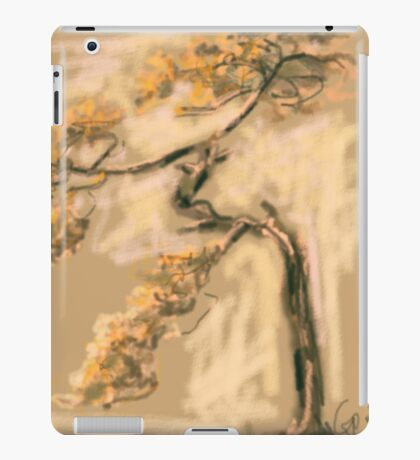 Tree warm tree iPad Case/Skin