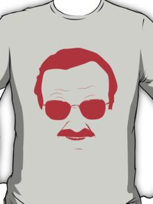 Stan Lee in Red T-Shirt