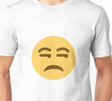 Unamused face - Emoji Unisex T-Shirt