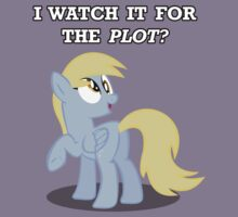 For the Plot? (Derpy) by vigorousjammer