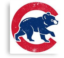 Chicago Cubs baseball Sport Canvas Print