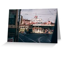Moreland junction on Sydney road 19600300 Greeting Card