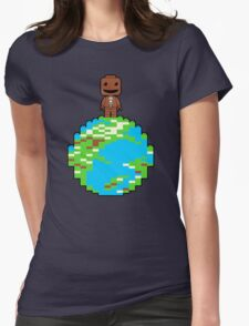 LITTLE BLOCK PLANET Womens Fitted T-Shirt