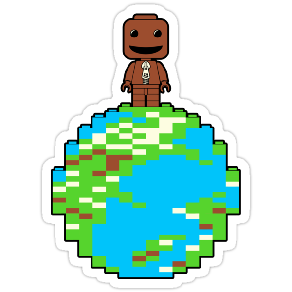LITTLE BLOCK PLANET by DREWWISE