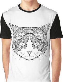 Snowshoe Cat Graphic T-Shirt