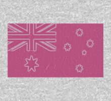 pink aussie flag olympic games supporter tee Kids Clothes