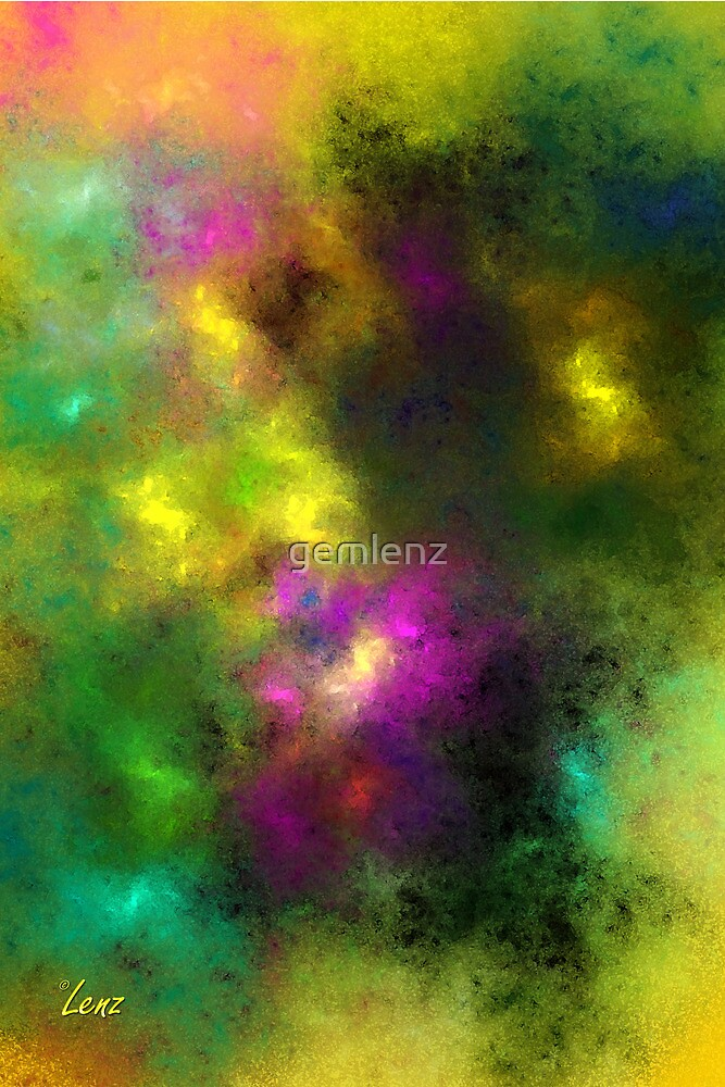 Multi-Colored Abstract by George Lenz
