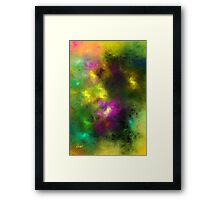 Multi-Colored Abstract Framed Print