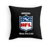 Nerd For Life Throw Pillow